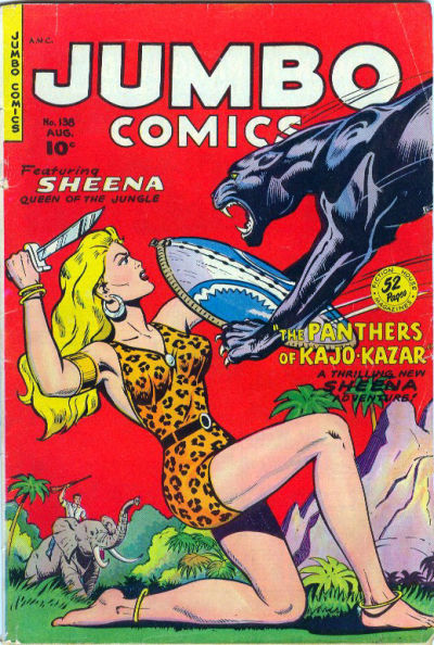 Cover for Jumbo Comics (Fiction House, 1938 series) #138