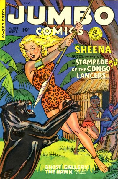 Cover for Jumbo Comics (Fiction House, 1938 series) #139