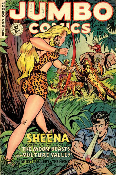 Cover for Jumbo Comics (Fiction House, 1938 series) #140