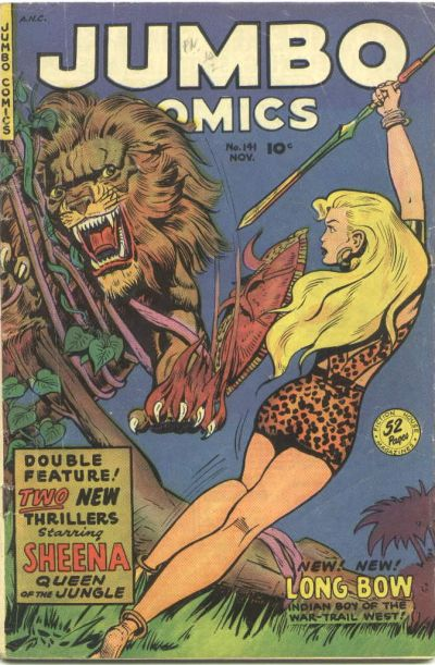 Cover for Jumbo Comics (Fiction House, 1938 series) #141