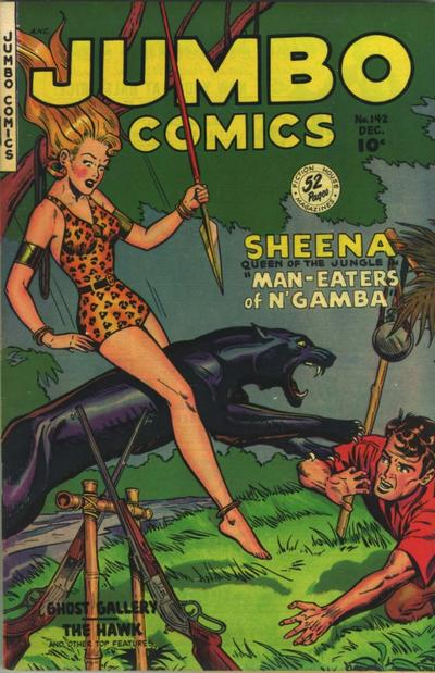 Cover for Jumbo Comics (Fiction House, 1938 series) #142