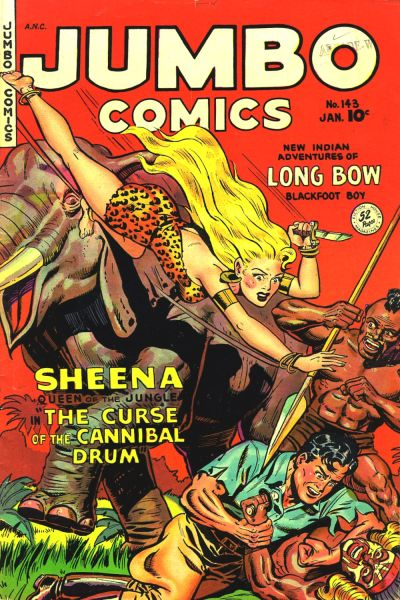Cover for Jumbo Comics (Fiction House, 1938 series) #143