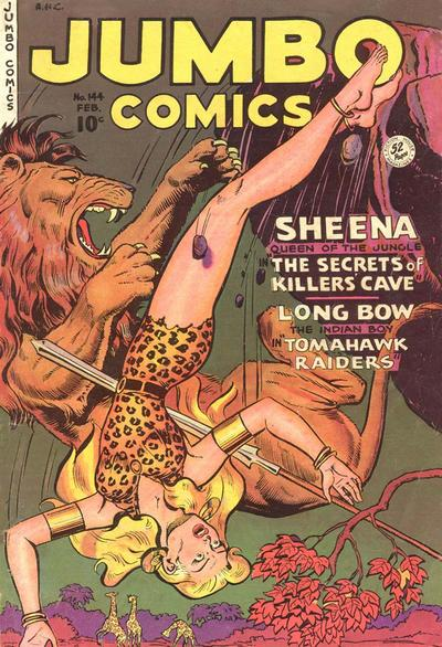 Cover for Jumbo Comics (Fiction House, 1938 series) #144