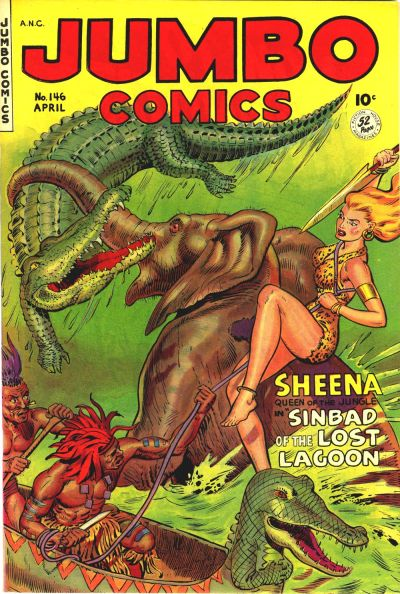 Cover for Jumbo Comics (Fiction House, 1938 series) #146
