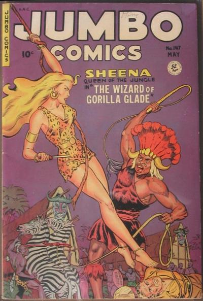 Cover for Jumbo Comics (Fiction House, 1938 series) #147
