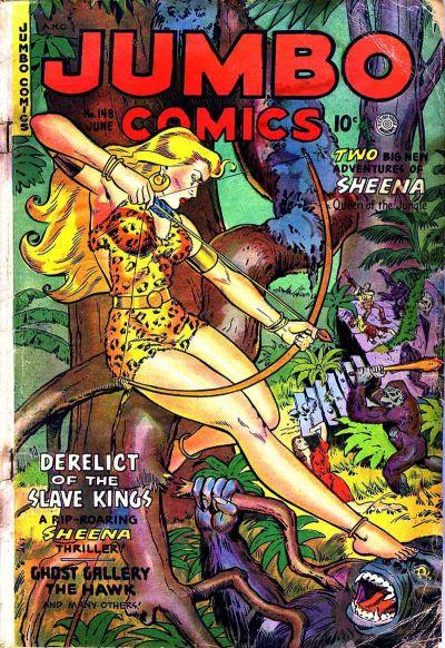 Cover for Jumbo Comics (Fiction House, 1938 series) #148