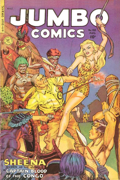 Cover for Jumbo Comics (Fiction House, 1938 series) #150