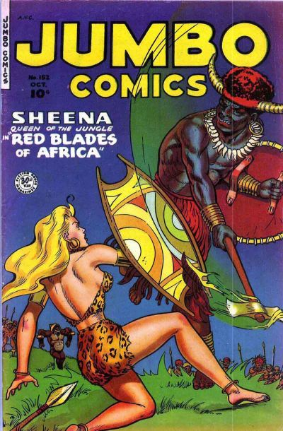 Cover for Jumbo Comics (Fiction House, 1938 series) #152