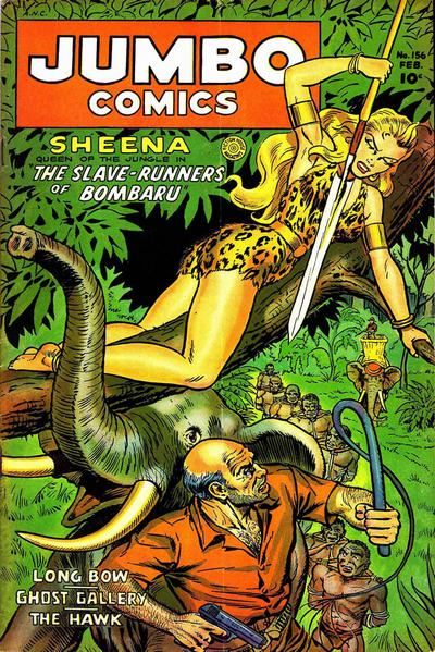 Cover for Jumbo Comics (Fiction House, 1938 series) #156