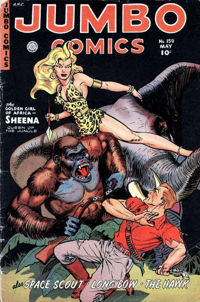 Cover for Jumbo Comics (Fiction House, 1938 series) #159