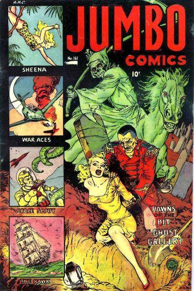 Cover for Jumbo Comics (Fiction House, 1938 series) #161