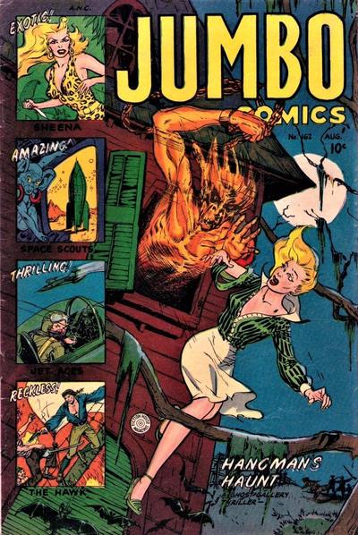 Cover for Jumbo Comics (Fiction House, 1938 series) #162