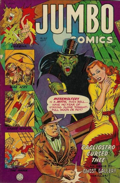 Cover for Jumbo Comics (Fiction House, 1938 series) #163