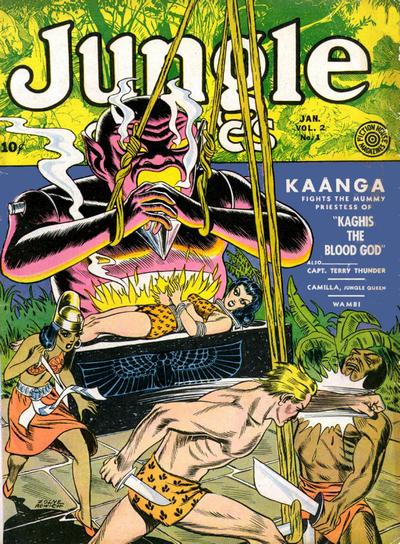 Cover for Jungle Comics (Fiction House, 1940 series) #v2#1 [25]