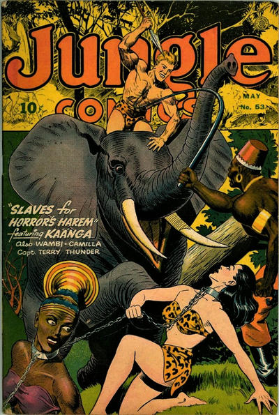 Cover for Jungle Comics (Fiction House, 1940 series) #53
