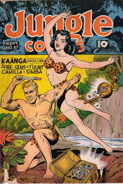 Cover for Jungle Comics (Fiction House, 1940 series) #57