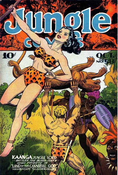 Cover for Jungle Comics (Fiction House, 1940 series) #58