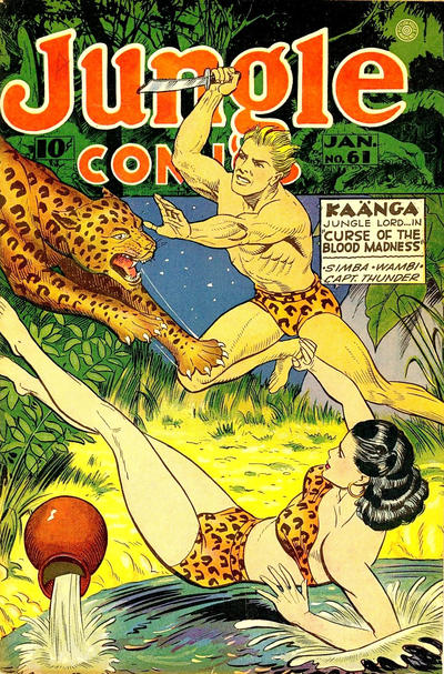Cover for Jungle Comics (Fiction House, 1940 series) #61