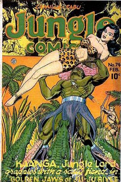 Cover for Jungle Comics (Fiction House, 1940 series) #74