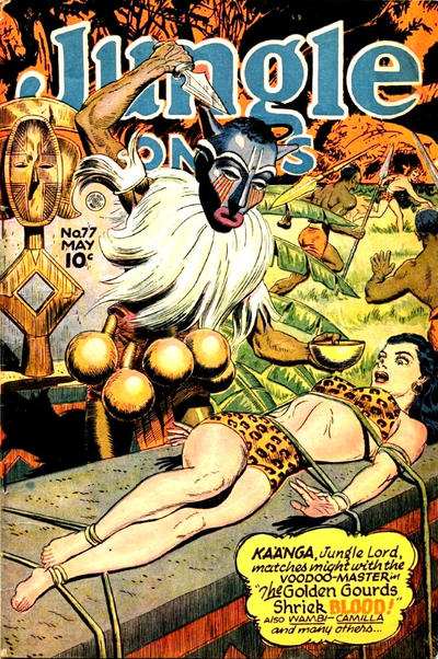Cover for Jungle Comics (Fiction House, 1940 series) #77