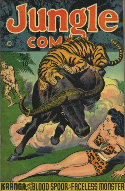 Cover for Jungle Comics (Fiction House, 1940 series) #84