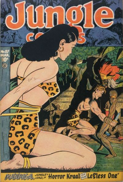 Cover for Jungle Comics (Fiction House, 1940 series) #87