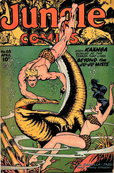 Cover for Jungle Comics (Fiction House, 1940 series) #88