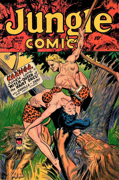 Cover for Jungle Comics (Fiction House, 1940 series) #93