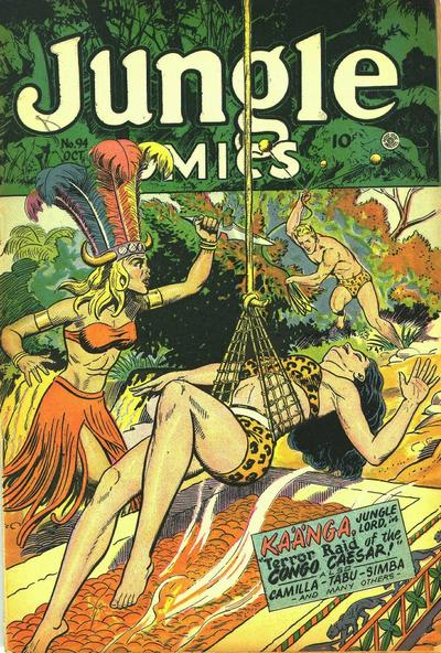 Cover for Jungle Comics (Fiction House, 1940 series) #94