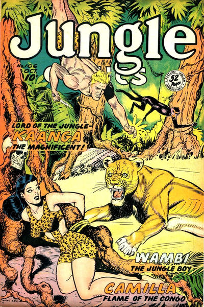 Cover for Jungle Comics (Fiction House, 1940 series) #106