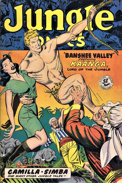Cover for Jungle Comics (Fiction House, 1940 series) #107