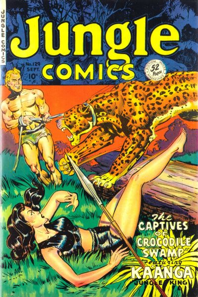Cover for Jungle Comics (Fiction House, 1940 series) #129