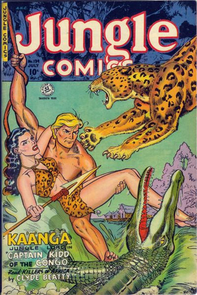 Cover for Jungle Comics (Fiction House, 1940 series) #139