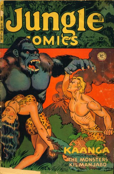 Cover for Jungle Comics (Fiction House, 1940 series) #140