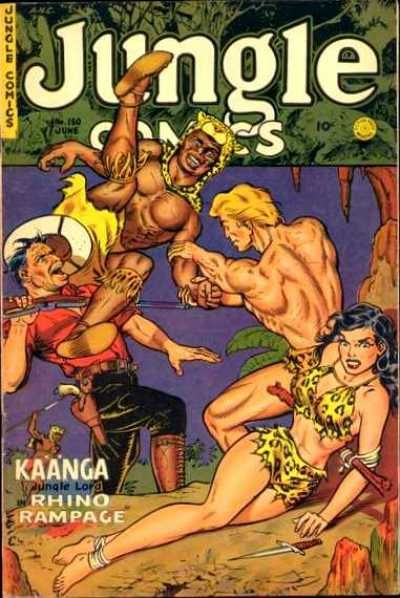 Cover for Jungle Comics (Fiction House, 1940 series) #150