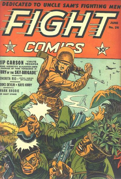 Cover for Fight Comics (Fiction House, 1940 series) #26