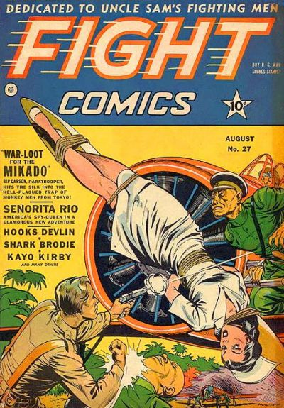 Cover for Fight Comics (Fiction House, 1940 series) #27