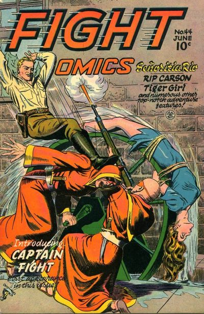 Cover for Fight Comics (Fiction House, 1940 series) #44