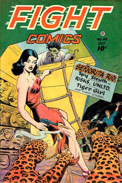 Cover for Fight Comics (Fiction House, 1940 series) #46