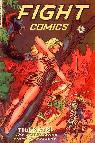 Cover for Fight Comics (Fiction House, 1940 series) #78