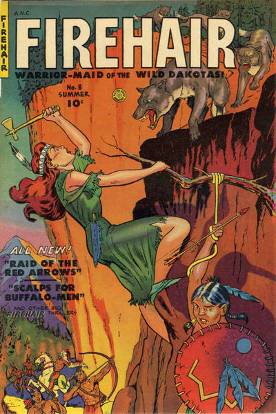 Cover for Firehair (Fiction House, 1951 series) #8