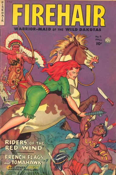 Cover for Firehair (Fiction House, 1951 series) #9