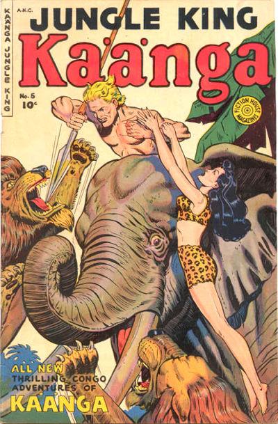 Cover for Kaänga Comics (Fiction House, 1949 series) #5