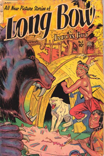 Cover for Long Bow (Fiction House, 1951 series) #2