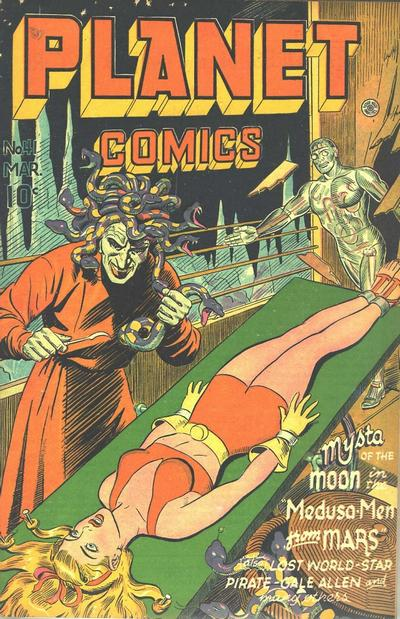 Cover for Planet Comics (Fiction House, 1940 series) #41