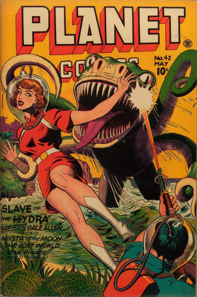 Cover for Planet Comics (Fiction House, 1940 series) #42