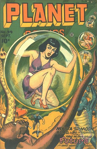 Cover for Planet Comics (Fiction House, 1940 series) #44