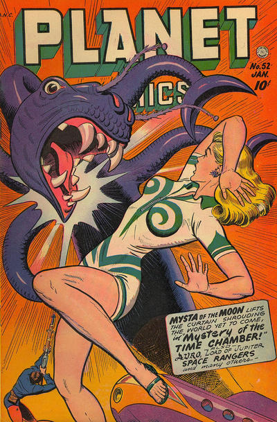 Cover for Planet Comics (Fiction House, 1940 series) #52