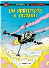 Cover for Buck Danny (Dupuis, 1948 series) #21 - Un prototype a disparu