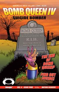 Cover Thumbnail for Bomb Queen IV Suicide Bomber (Image, 2007 series) #4